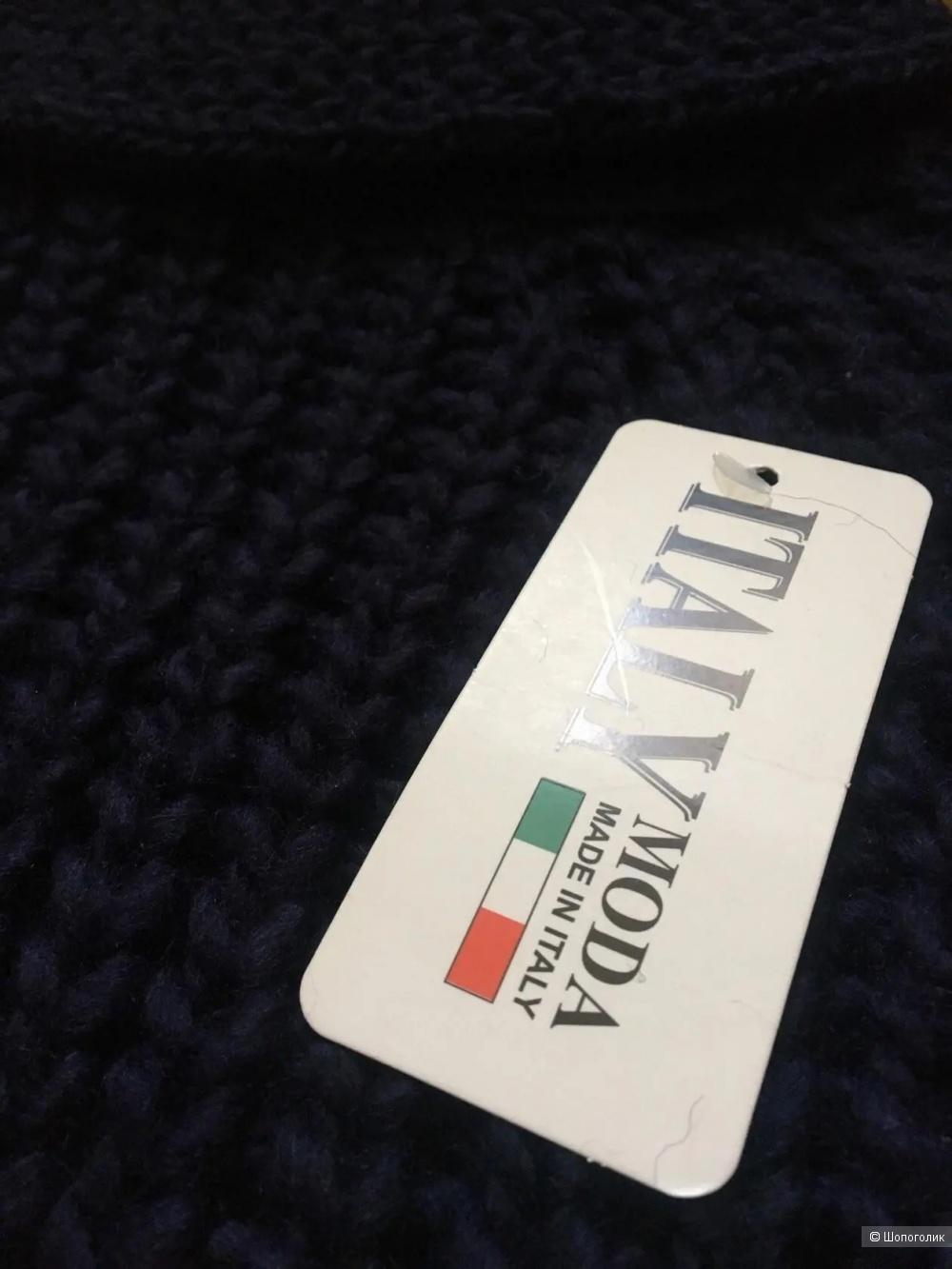 Свитер туника вязаный Moda Italy, 42-50