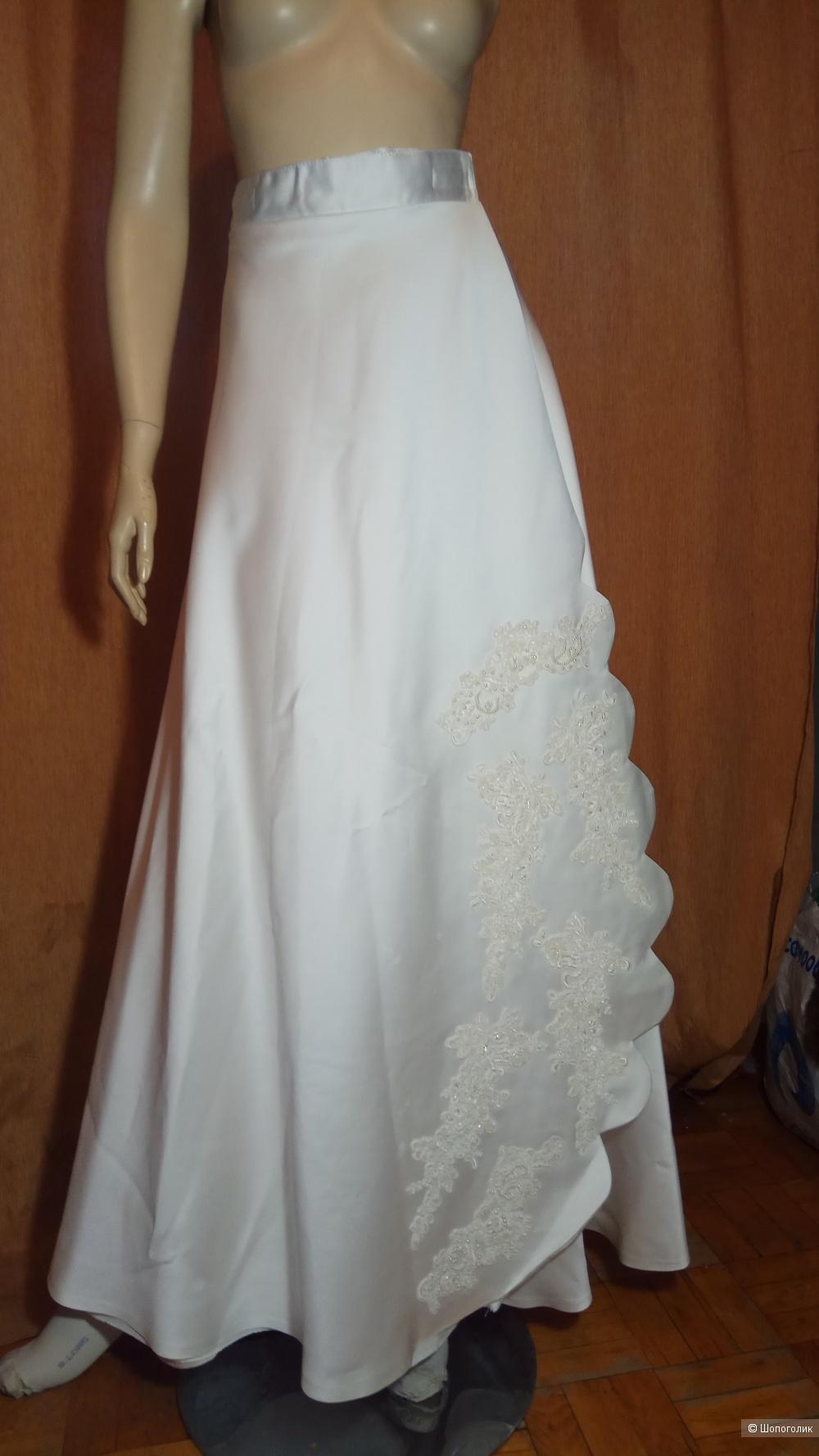 Свадебное платье полный комплект S/M размер