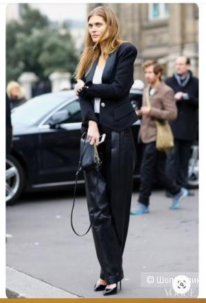 Кожаные брюки Balmain, 40 диз. на 42-44 рус.