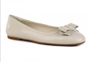 Женские балетки NERO GIARDINI, 38 размер, цвет серовато-белый