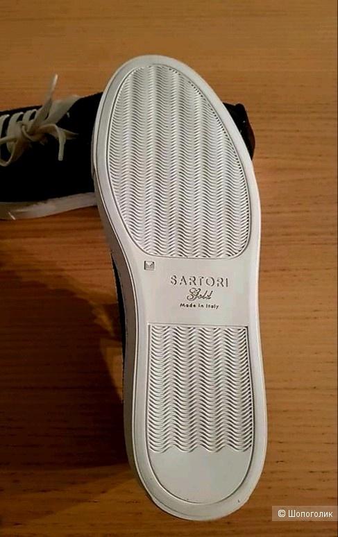 Сникерсы unisex от итальянского бренда Sartori, размер 37