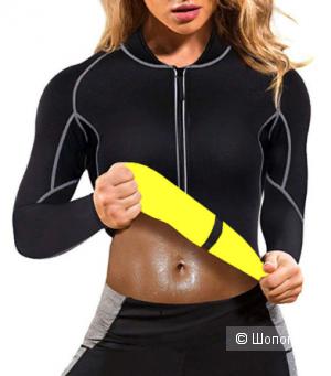 Куртка из неопрена для фитнеса, р-р S-М