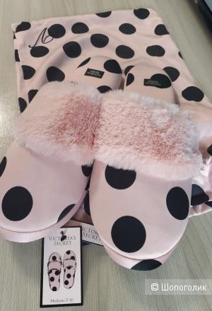 Тапочки домашние от Victoria's Secret,37-38