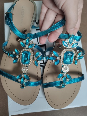 Босоножки или сандалии Stephan 40 размер примерно