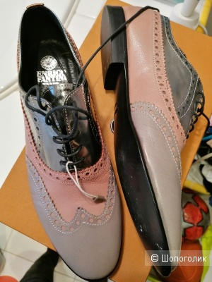 Кожаные туфли Enrico Fantini 42 размера