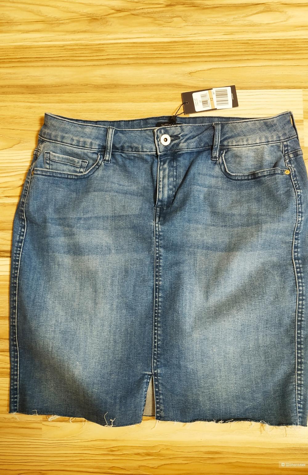 Юбка джинсовая от Tommy Hilfiger, размер 12(М/L)