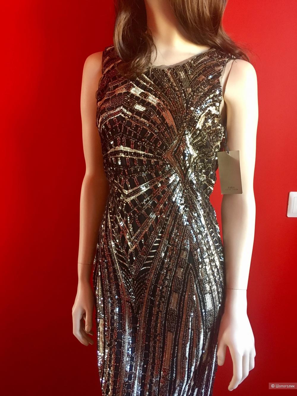 Вечернее платье Zara Festive Season, M