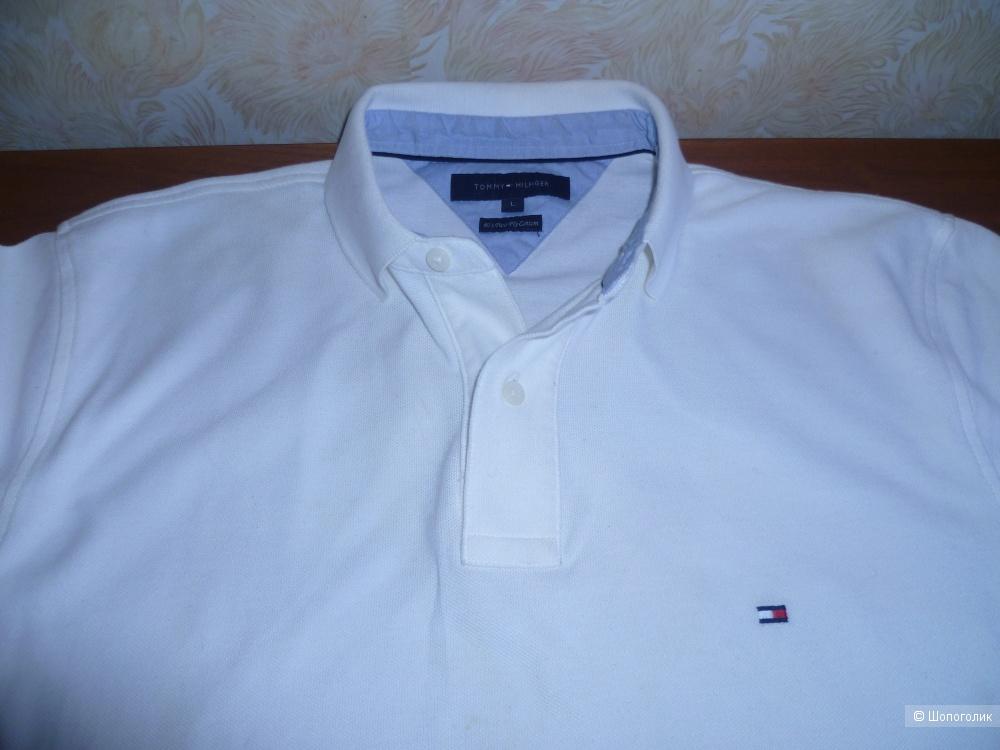"Tommy Hilfiger. Рубаха-поло мужская, Размер ""L""(US,на наш-XL,или 50-52)"