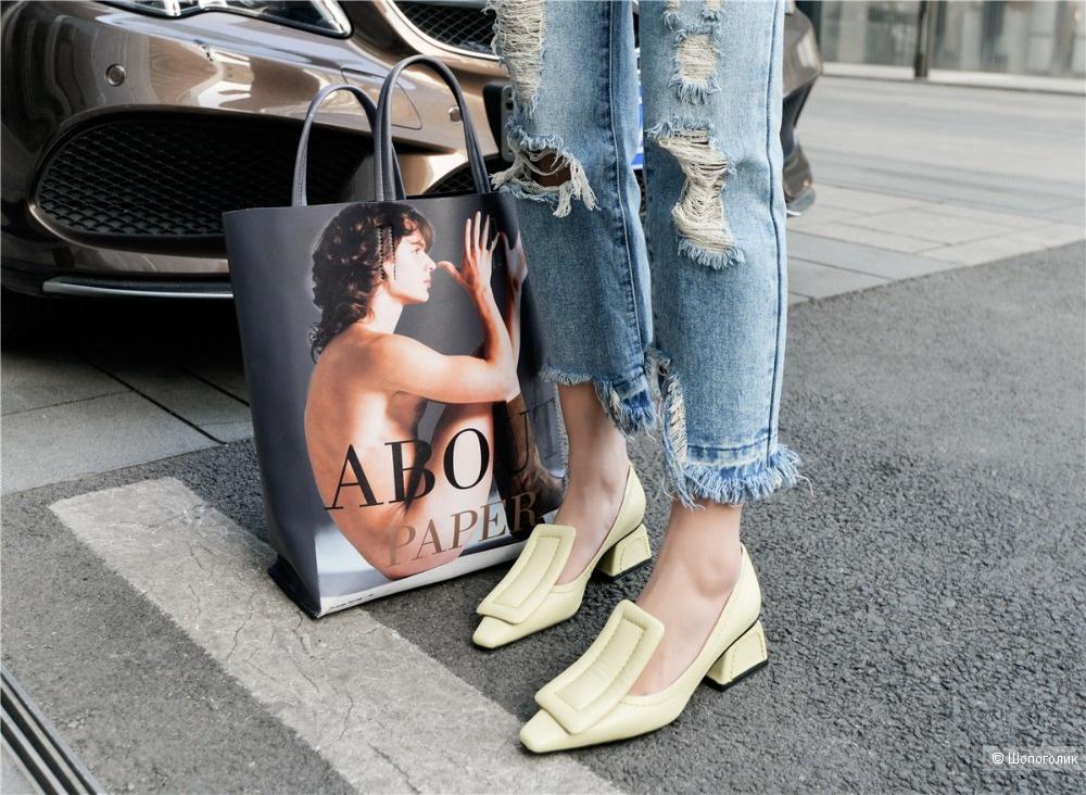 Женские туфли. Размер 39-40.
