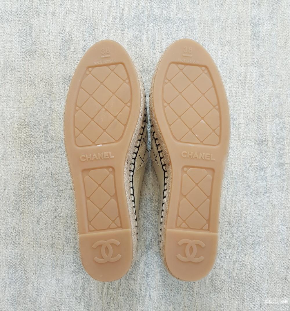 Эспадрильи Chanel 37\38 размер