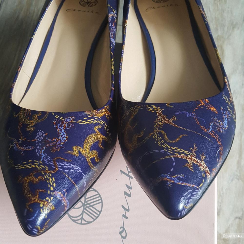Туфли Эконика 40 размер 25,5 см