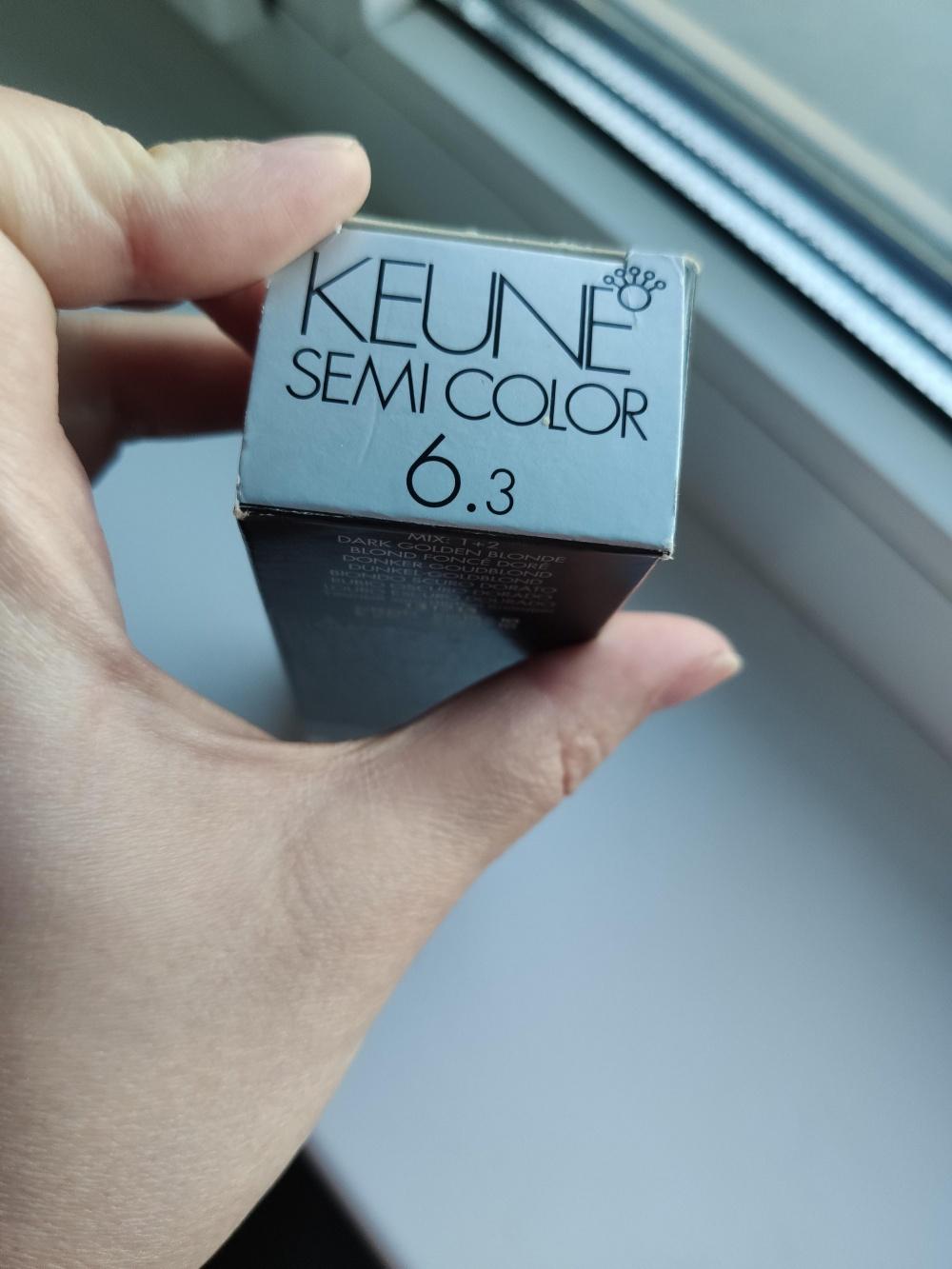 Краска для волос KEUNE Semi Color оттенок 6.3  темный блондин золотистый
