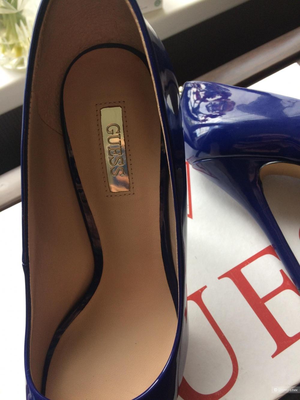 Туфли  лакированные GUESS 37 (23.5 по стельке)