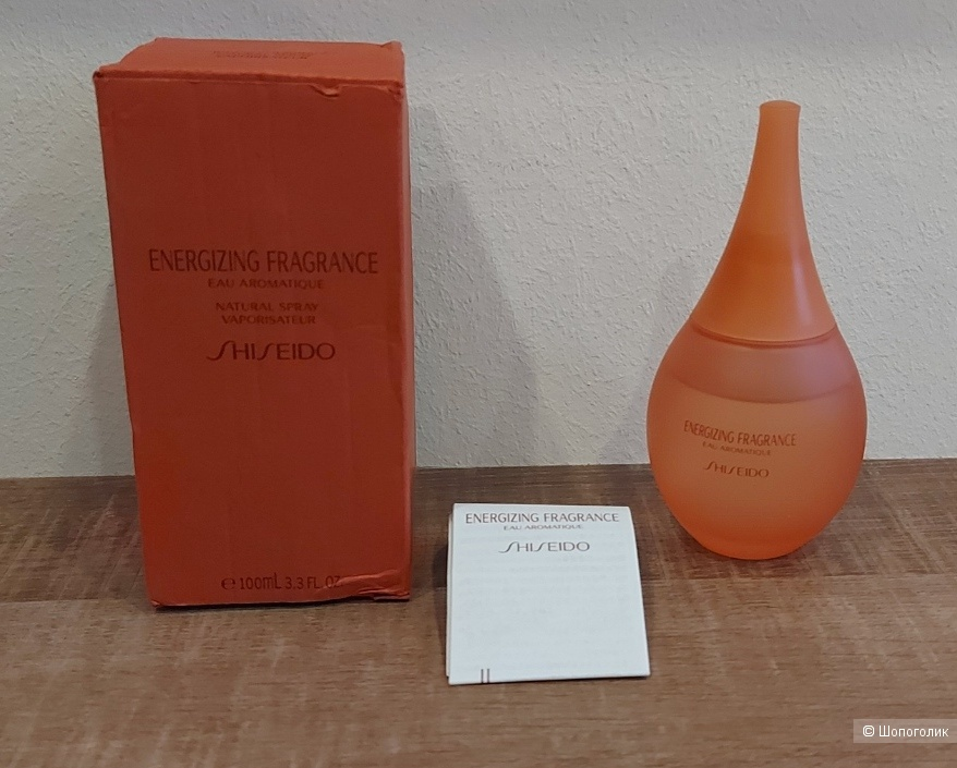 Парфюм Energizing Fragrance, Shiseido пв 97/100 мл