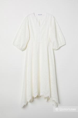 Платье ришелье HM евро 34-36