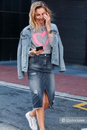 Джинсовая юбка Aniston (38 D)