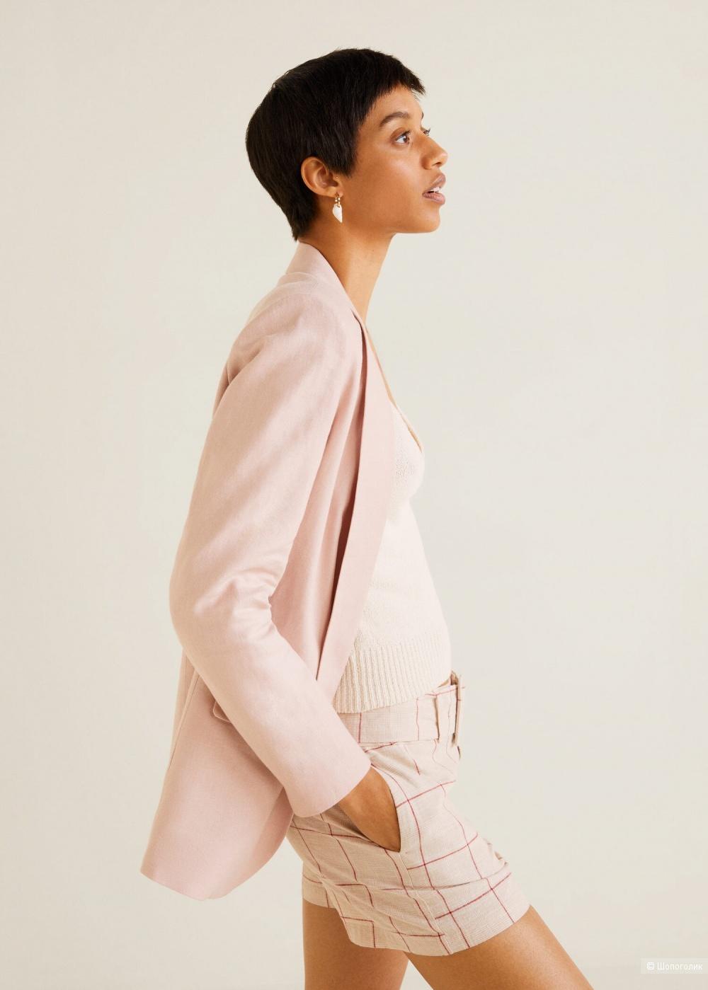 Пиджак 100% лен, mango, размер S/ М