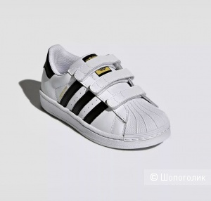 Кеды Adidas Superstar,размер 20