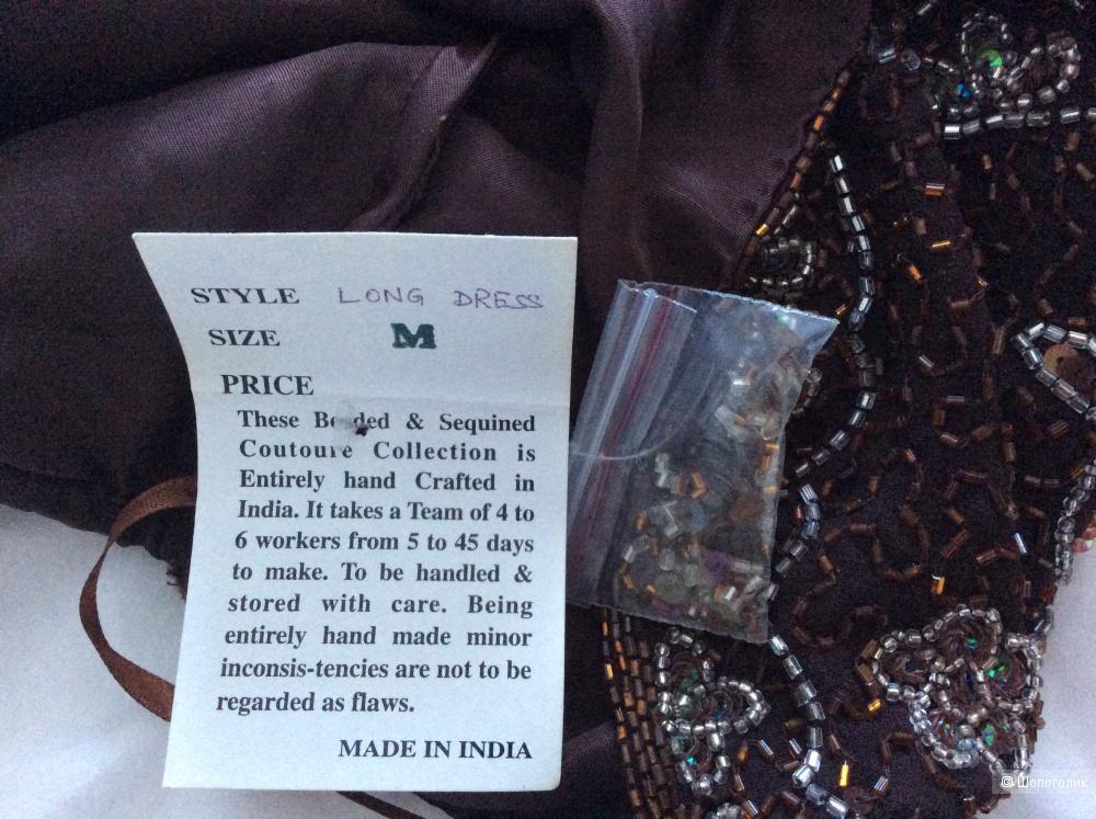 Платье в пол India Fashion р.M (на 44-46-48)