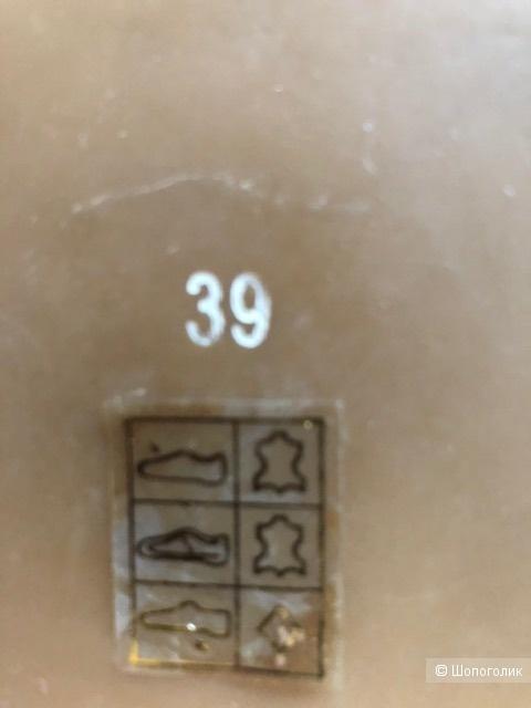 Мокасины на липучках  JEFFREY CAMPBELL,38-39