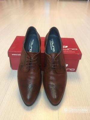 Туфли (Оксфорды) «Tolino» 39 размер