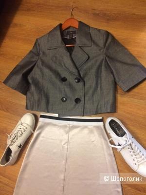 Летний пиджак H&M Eur 38, росс. размер 44-46