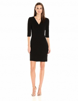Adrianna Papell платье черное р 42-44