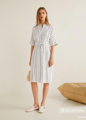 Платье -рубашка mango, размер S