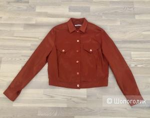 Шелковая куртка Rene Lezard, размер М.