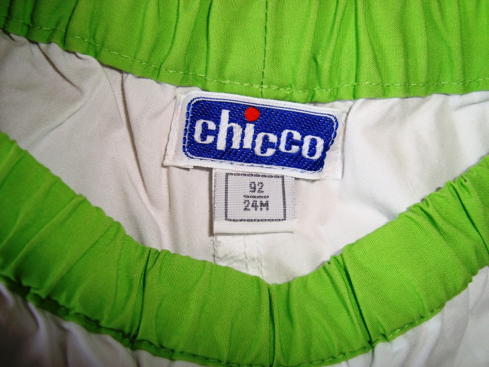 "Комплект ""Сhicco"" брюки и лонг р.92, 24M"
