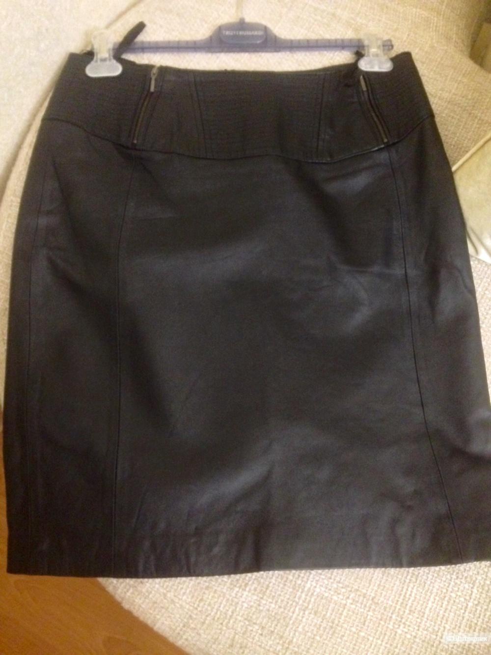 Кожаная юбка heine L/XL