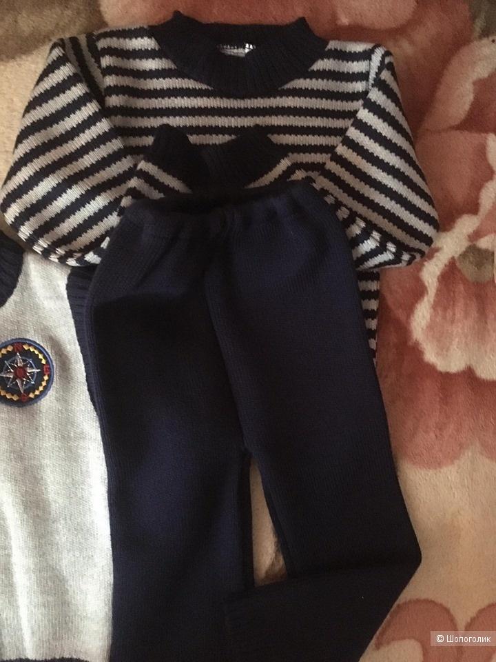 Детский костюм - тройка, 3-4 года, рост 92-98 см