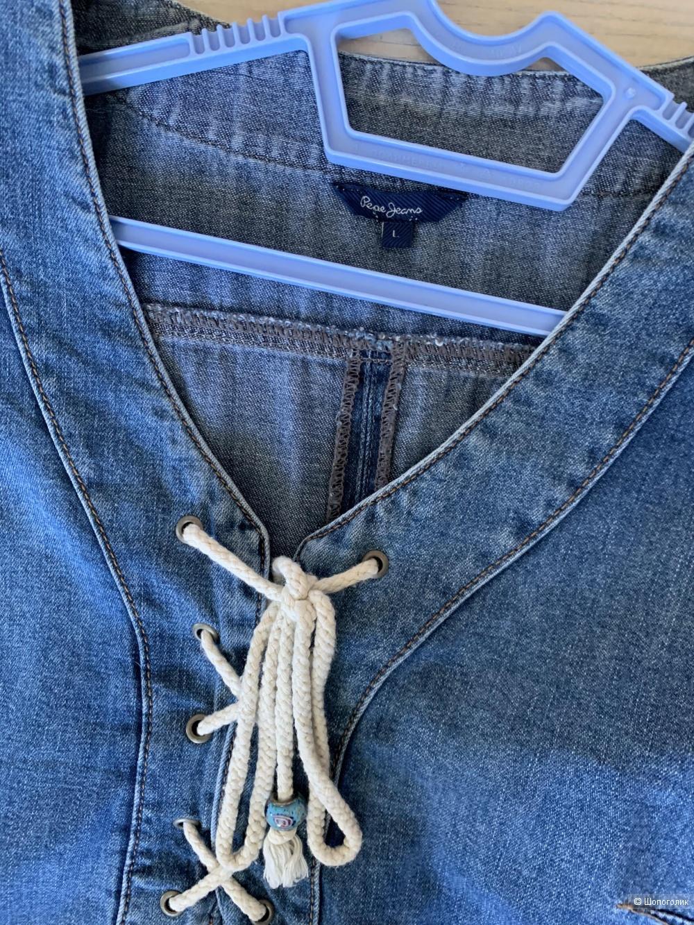 Джинсовое платье Pepe jeans L