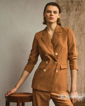 Удлиненный пиджак mango, размер S/М