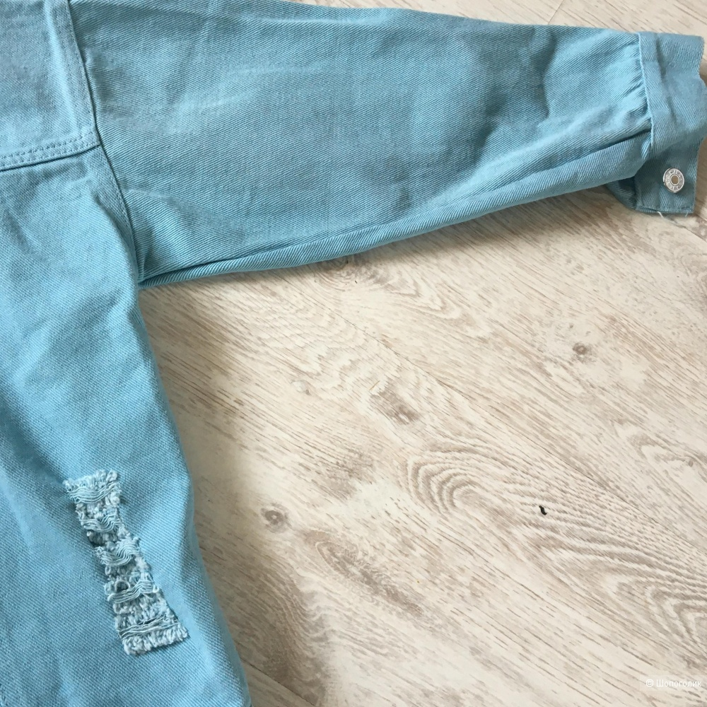 Джинсовая куртка In Blue, oversize
