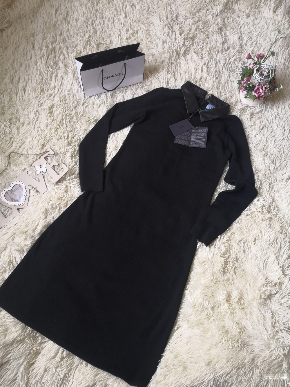 Платье Prada, размер 44-46.
