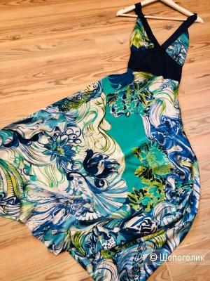 Платье  ANNA VERDI Fiori. Размер M-L.