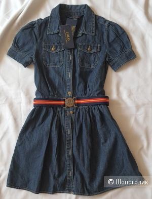 Платье Polo Ralph Lauren под джинсу размер 6x
