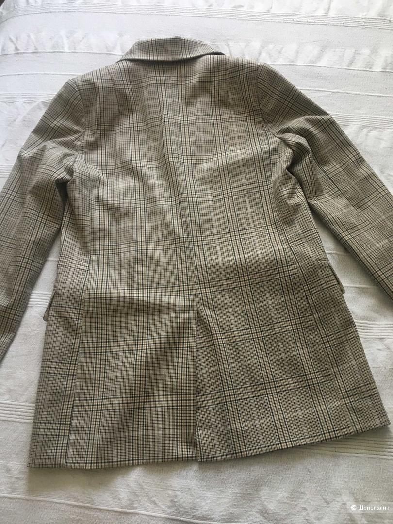 Пиджак клетчатый HM евро34