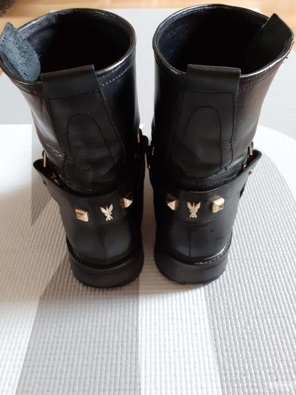 Байкерские ботинки Patrizia Pepe 38
