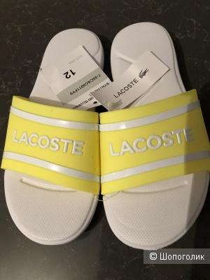 Шлепанцы детские Lacoste размер 29