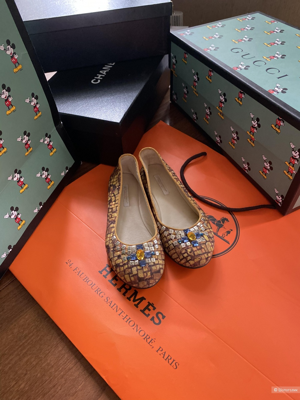 Балетки Dolce Gabbana 33 размер