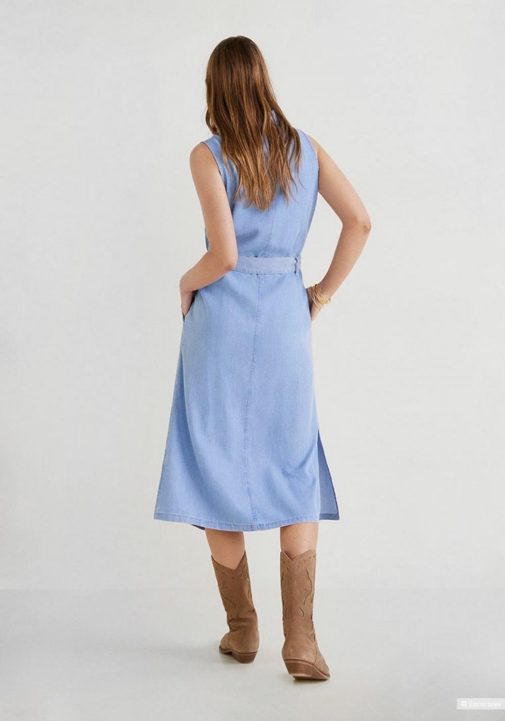 Платье- рубашка из лиоцелла mango, размер S/M