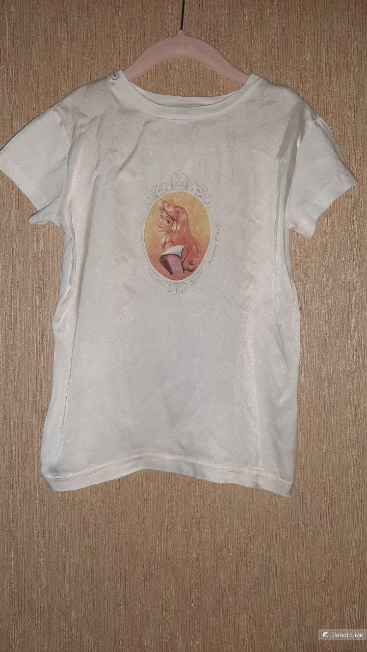 Шелковая футболка на девочку Dolce&Gabbana