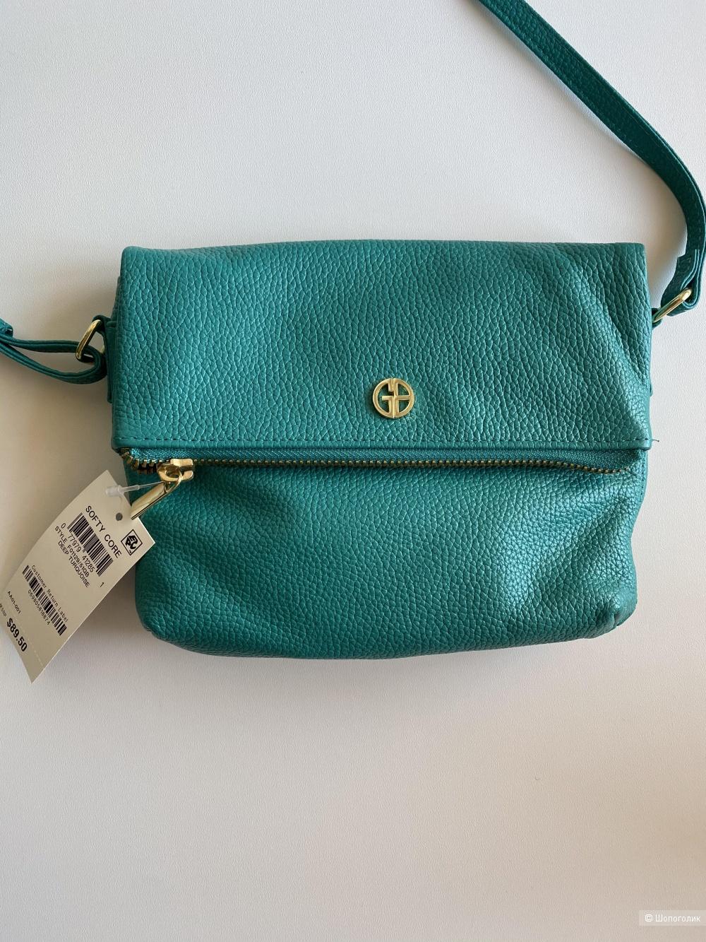 Кожаная сумочка Gianni Bernini