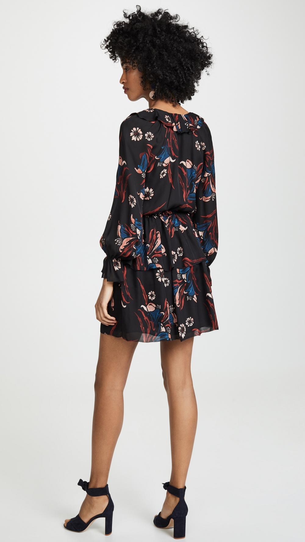 Шелковое платье Joie, размер М