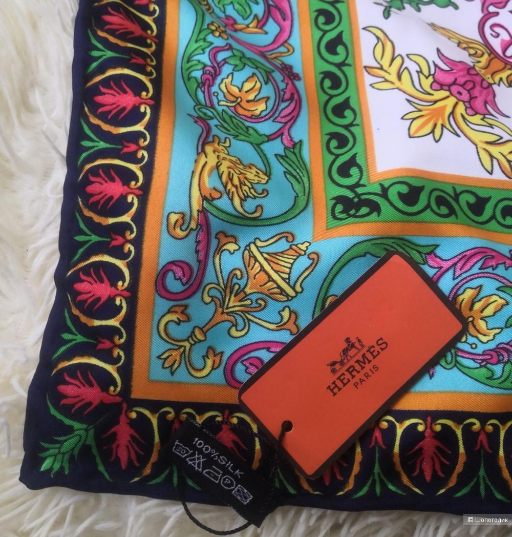 Платок Hermes, размер 106 x106