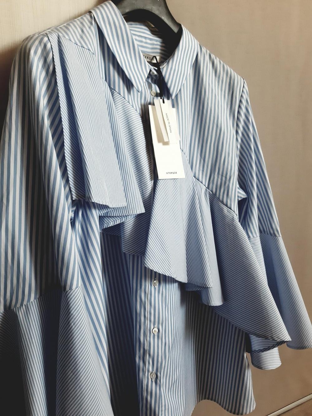 Рубашка UTERQUE, размер L/M