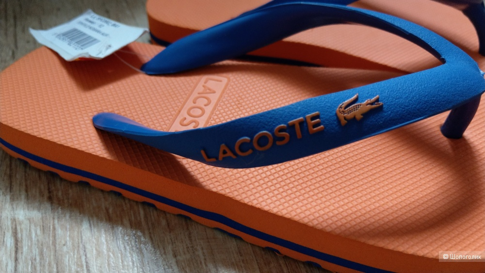 Шлепанцы Lacoste (30.5)