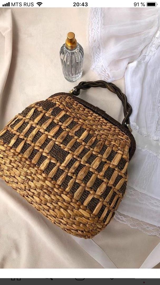 Соломенная сумка Cabana